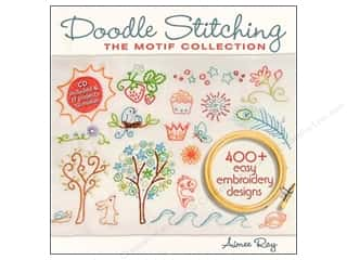 Computer Software / CD / DVD: Doodle Stitching The Motif Collection Book by Aimee Ray