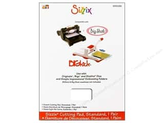 die cutting machines: Sizzix Cutting Pad Standard 2 pc. Clear
