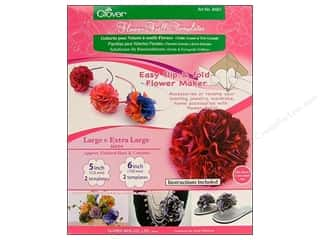 Clover Flower Frill Template Large & Extra Large