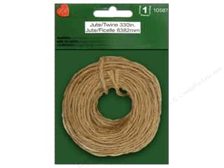 Jute twine: Lara's Craft Jute Twine 330 in.