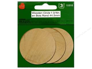 Lara's: Lara's Wood Circle 1 3/4 in. 3 pc.