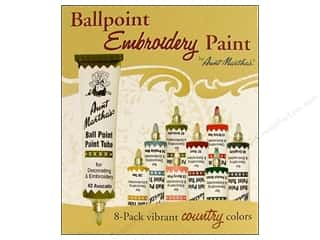 Weekly Specials Aunt Martha's Ballpoint Paint Set: Aunt Martha's Ballpoint Paint Set 8 pc. Country