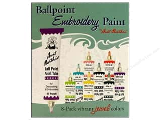 Weekly Specials Aunt Martha's Ballpoint Paint Set: Aunt Martha's Ballpoint Paint Set 8 pc. Jewel
