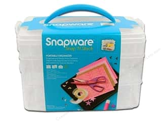 craft & hobbies: Snapware Snap 'N Stack Medium Rectangle 3 Layer