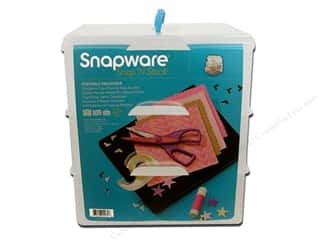 craft & hobbies: Snapware Snap 'N Stack Large Square 3 Layer 4 Dividers