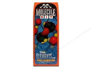 Home Decor Sale Glue Guns: FloraCraft Styrofoam Kit Molecule Painted Boxed