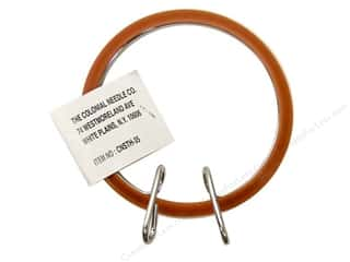 "Stitchery Frame Parts / Quilting Frame Parts: Colonial Needle Spring Tension Hoop 3.5"" Plastic"