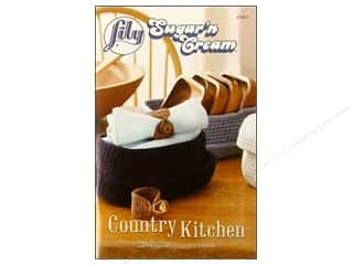 yarn  books: Lily Books Sugar'n Cream Country Kitchen Book