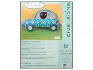 weekly special pillow: Dimensions Applique Kit Felt Happi Bear Pillow