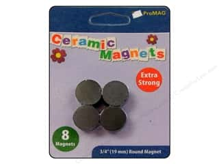 ProMag 3/4 in. Extra Strong Ceramic Magnets 8 pc.