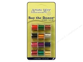26 ga wire: Artistic Wire 26 ga. Copper Wire 5 yd. Assorted Colors Dozen