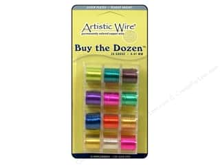 26 ga wire: Artistic Wire 26 ga. Copper Wire 5 yd. Assorted Colors Dozen Silver Plated