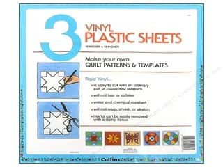 Quilting Collins: Template Plastic Sheets by Collins 12 x 12 in. 3 pc.