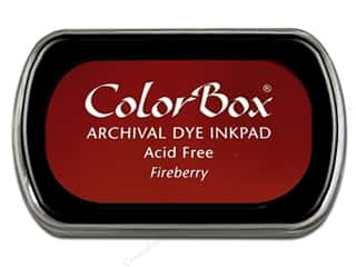 Clearance ColorBox Premium Dye Ink Pad: ColorBox Archival Dye Ink Pad Full Size Fireberry