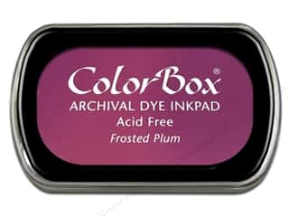 ColorBox Archival Dye Ink Pad Full Size Frosted Plum