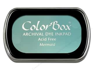 Clearance ColorBox Premium Dye Ink Pad: ColorBox Archival Dye Ink Pad Full Size Mermaid