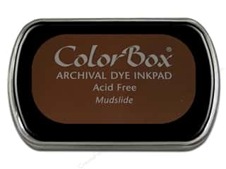 Clearance ColorBox Premium Dye Ink Pad: ColorBox Archival Dye Ink Pad Full Size Mudslide