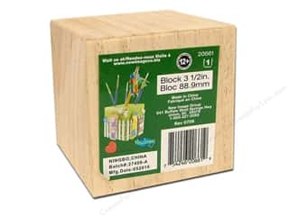 craft & hobbies: Lara's Wood Blocks 3 1/2 in. 3 pc.