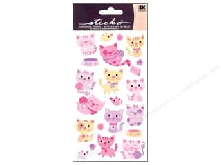 scrapbooking & paper crafts: EK Sticko Stickers Kitty Cats