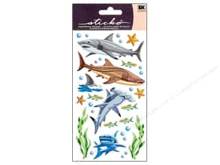 scrapbooking & paper crafts: EK Sticko Stickers Sharks