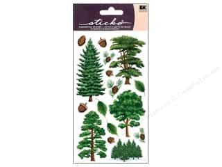 scrapbooking & paper crafts: EK Sticko Stickers Majestic Trees