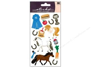 scrapbooking & paper crafts: EK Sticko Stickers Pony Show