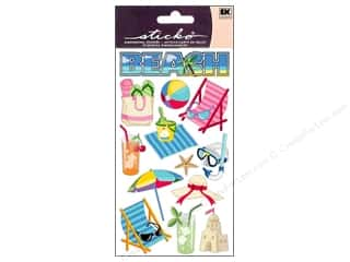 scrapbooking & paper crafts: EK Sticko Stickers Beach Time