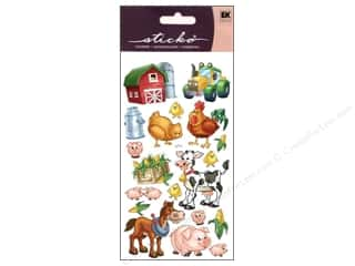 scrapbooking & paper crafts: EK Sticko Stickers Farm Friends