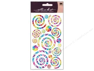 Sticko Stickers - Swirls and Twirls