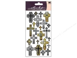scrapbooking & paper crafts: EK Sticko Stickers Repeats Cross