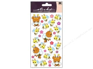 theme stickers: EK Sticko Stickers Honey Bear N Bees