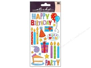 theme stickers: EK Sticko Stickers Birthday Party
