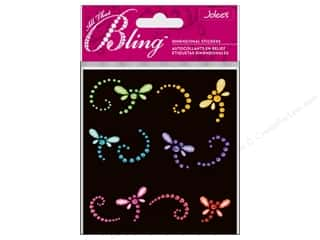 bling stickers: Jolee's Bling Stickers Dragonflies