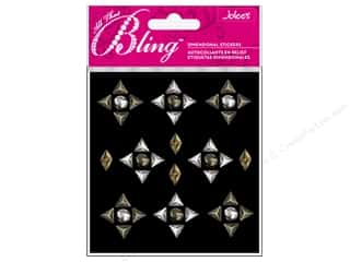 Clearance EK Jolee's 3D Sticker Bling: Jolee's 3D Bling Stickers Studs Triangle and Mix