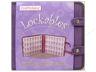 Weekly Specials Jewelry Making: Craft Mates Lockables Case w/2XL 7 Compartment 8pc