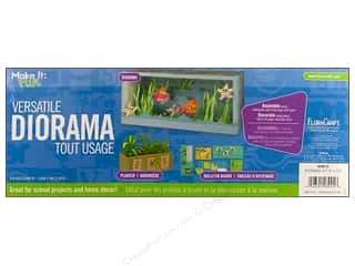 craft & hobbies: FloraCraft Styrofoam Kit Diorama 6 x 15 in.