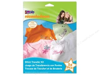 projects & kits: Nickelodeon Kit Stitch Transfer iCarly