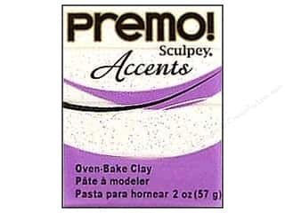 craft & hobbies: Premo! Sculpey Polymer Clay 2 oz. Frost White Glitter