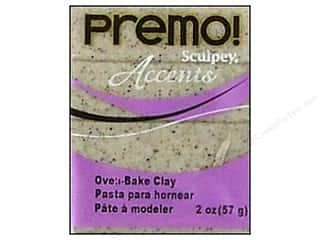 Sculpey: Premo! Sculpey Polymer Clay 2 oz. Gray Granite