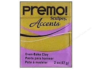 Premo! Sculpey Polymer Clay 2 oz. Antique Gold