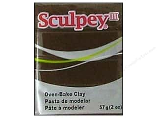 Sculpey III Clay 2 oz. Suede Brown