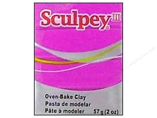 craft & hobbies: Sculpey III Clay 2 oz. Fuchsia Pearl
