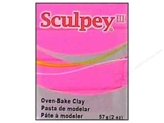 acrylic paint: Sculpey III Clay 2 oz. Candy Pink