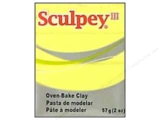 craft & hobbies: Sculpey III Clay 2 oz. Lemonade