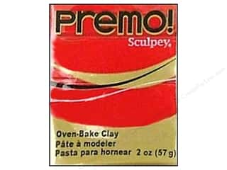 Premo! Sculpey Polymer Clay 2 oz. Pomegranate