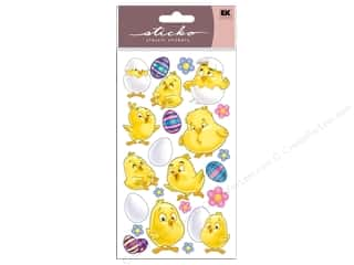 Spring Stickers: EK Sticko Stickers Spring Chicks
