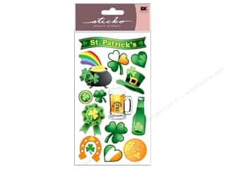 scrapbooking & paper crafts: EK Sticko Stickers St Patrick's Day