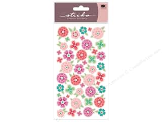 Spring Stickers: EK Sticko Stickers Flower Tropics