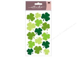 EK Sticko Stickers Large Shamrocks