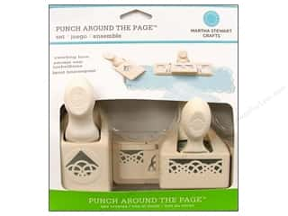 Martha Stewart Punch Around The Page Set Swirling Lace
